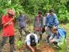 Atelier de formation pour la plantation à Fray Martin
